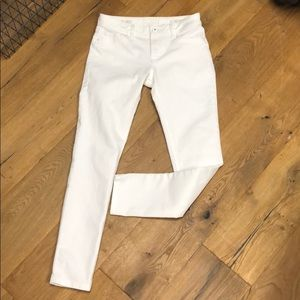 DL1961 White Florence Skinny Jeans Size 27